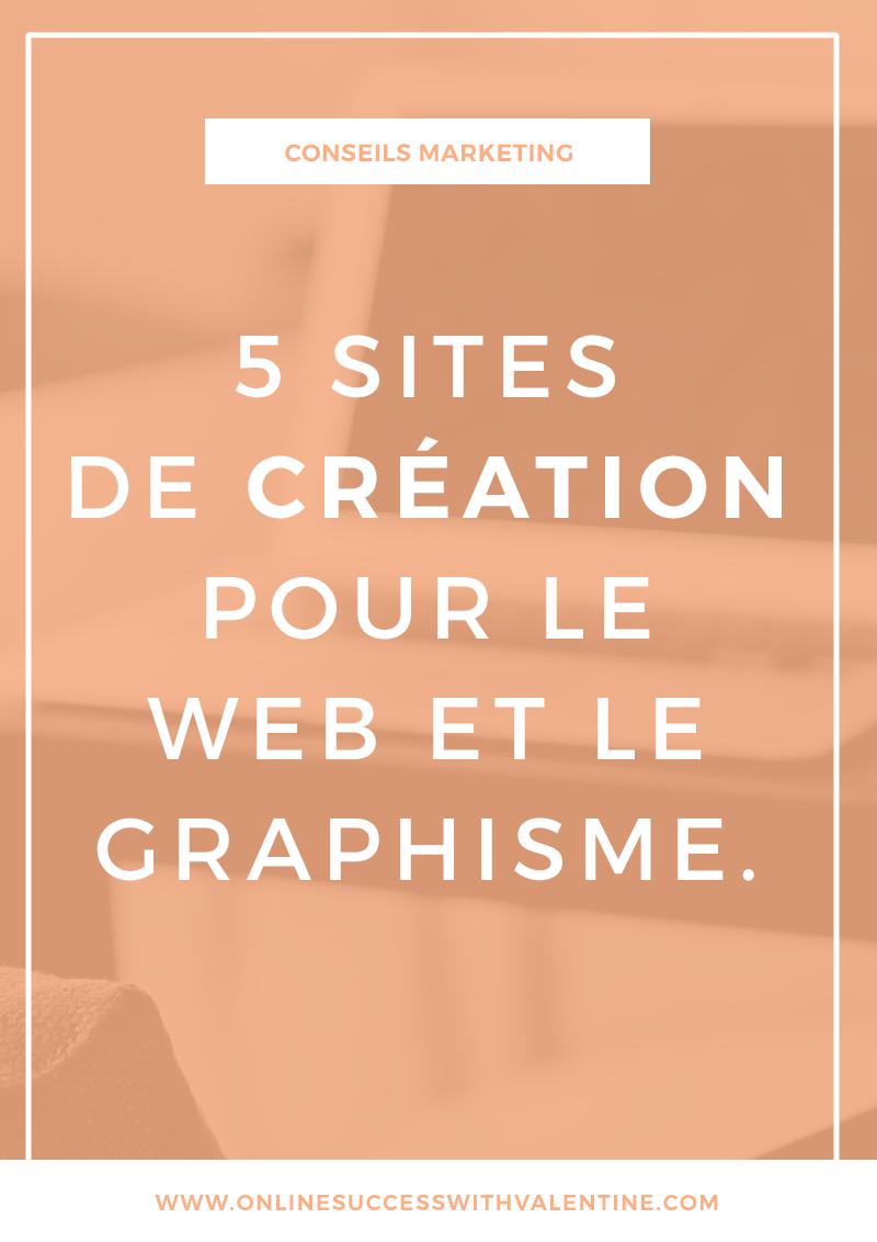 5 sites de création pour le web et le graphisme